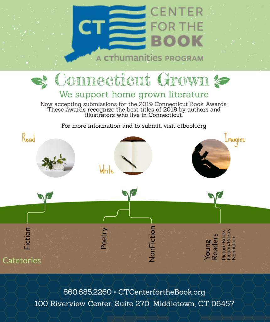 2019 Connecticut Book Awards Submission Guidelines
